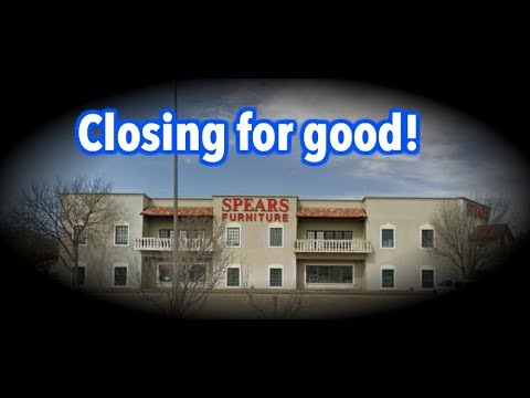Spears Furniture To Close After 60, Spears Furniture Lubbock