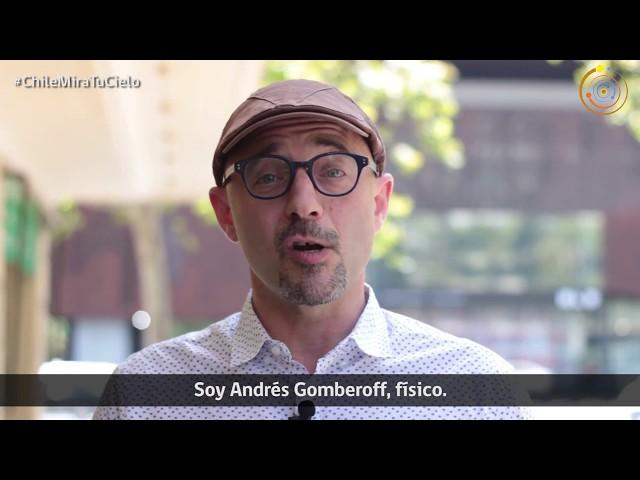 Andrés Gomberoff te invita al Día de la Astronomía