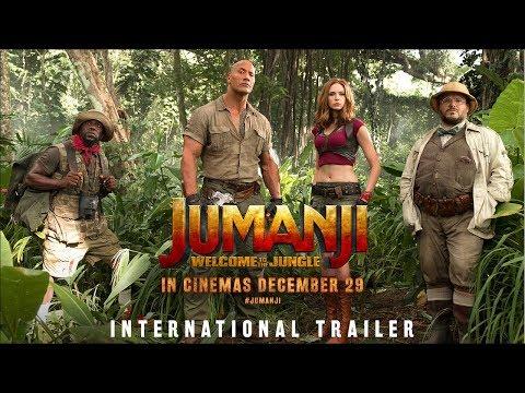 Jumanji: Welcome To The Jungle  International  2  In Cinemas Dec 29