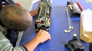Heat roller change fuser docucolor 250