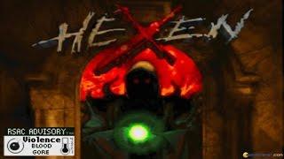 Hexen: Deathkings of the Dark Citadel gameplay (PC Game, 1996)