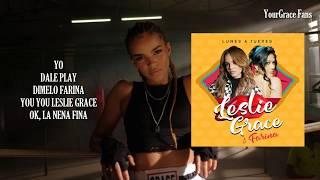 Leslie Grace, Farina - Lunes A Jueves S