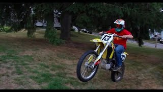 FIRST DIRT BIKE | TOO MUCH POWER!!!