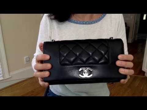 1e57a079c540 Chanel Mademoiselle Flap & Buying at Paris Airport - YouTube