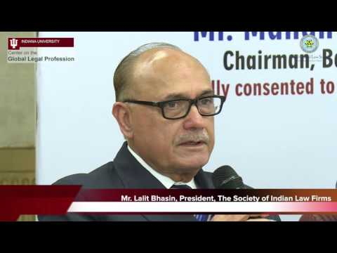 Seminar on the 'Opening of India's Legal Services Sector' - Panel Discussion