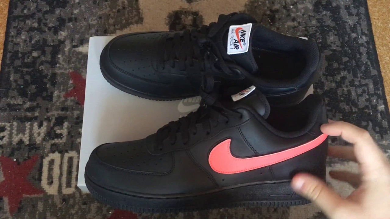 1 Swoosh Pack Unboxing Nike Air Force Y6g7bfy
