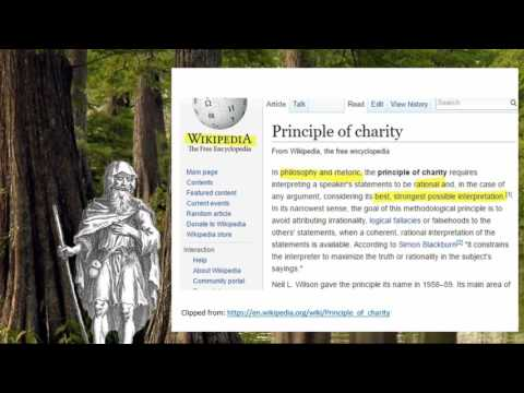 The Principle of Charity