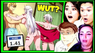 I Showed YouTubers the WORST Anime Ever Created - (ft CDawgVA, MxR Plays, Gibi ASMR & Lord Briggo)