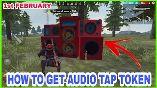 HOW TO COMPLETE TRAP REVOLUTION EVENT IN FREE FIRE,HOW COLLECT AUDIO TAP TOKEN IN FREE FIRE, TARIKUL