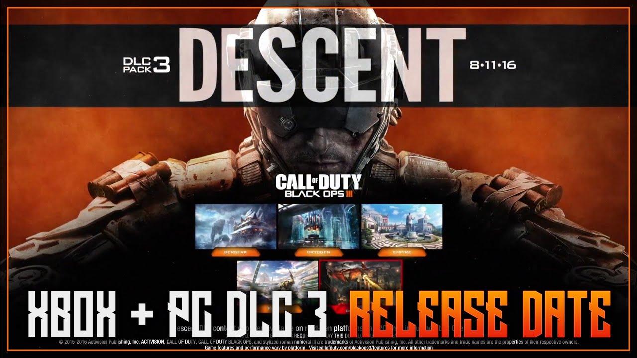 Cod bo3 release date in Brisbane