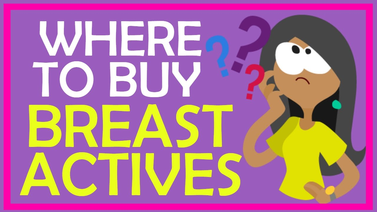 Where To Buy Breast Actives In Stores Youtube
