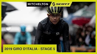 RAIN NEUTRALISES FINISH | 2019 GIRO D'ITALIA STAGE 5