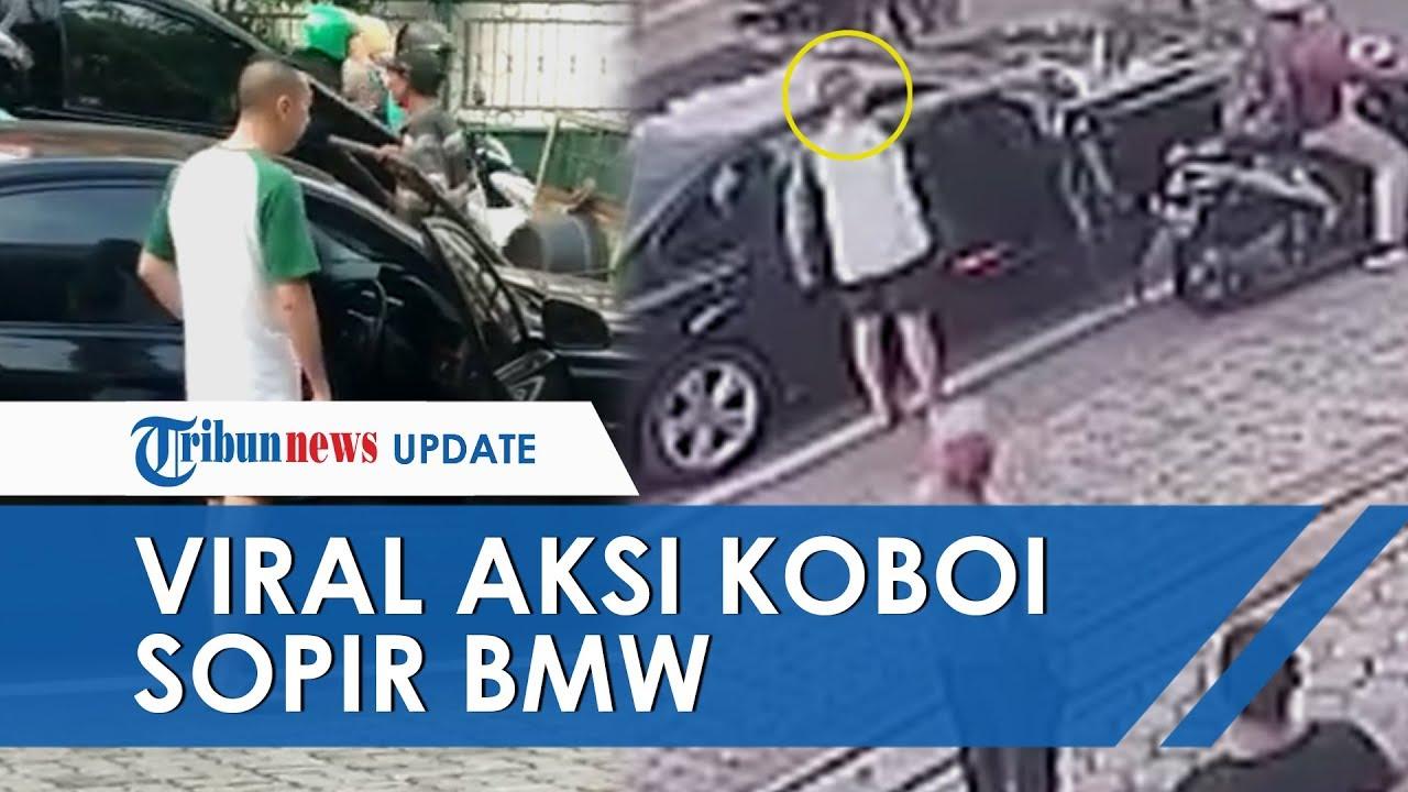 Viral Aksi Koboi Pengemudi BMW, Acungkan Pistol di Tengah Kemacetan