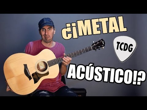 Top 10 best metal songs ever but played on acoustic guitar!