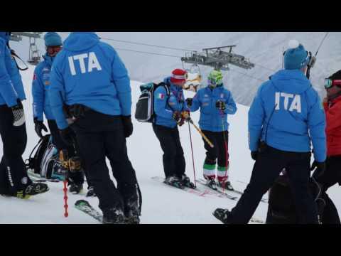 Italian Ski Team training at Carosello 3000 Livigno Mp3