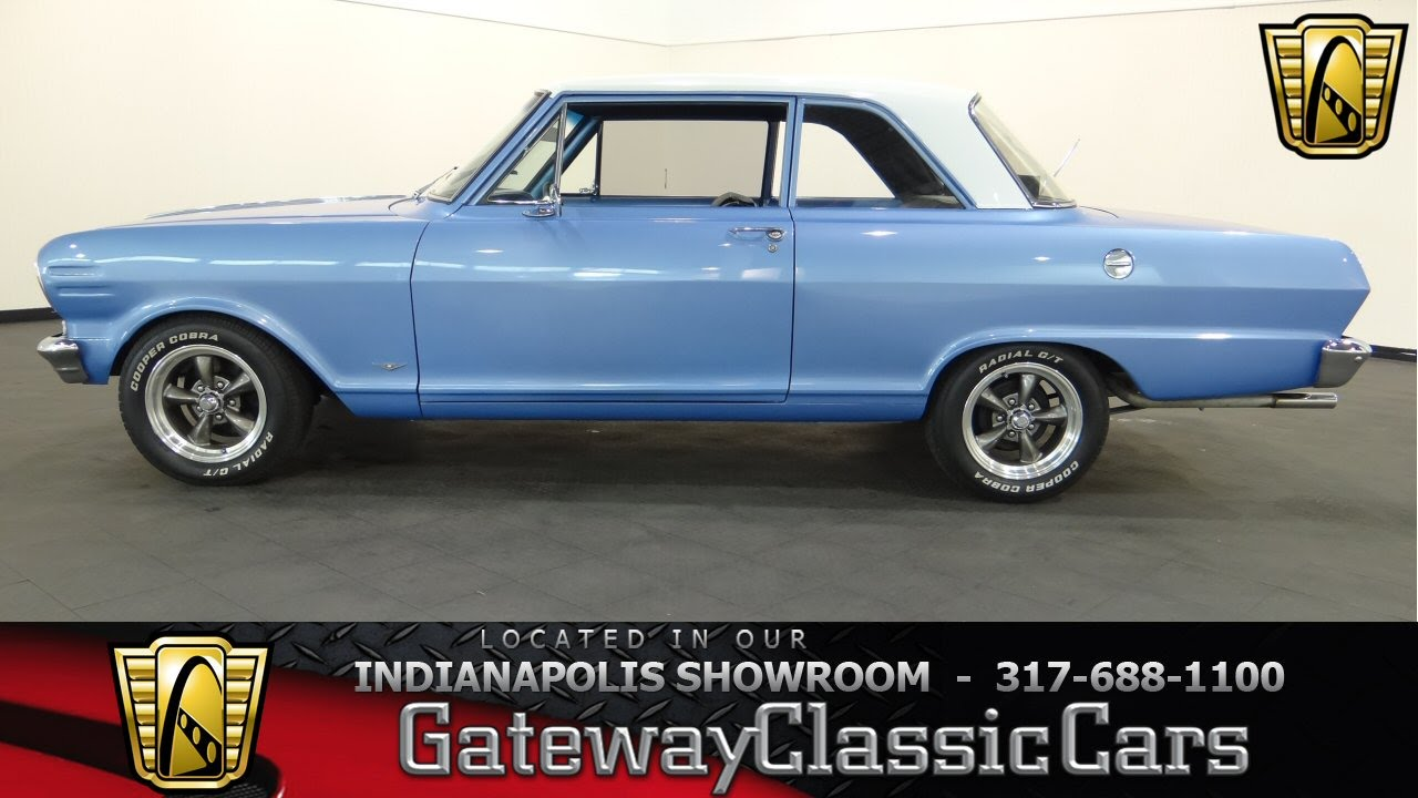 Cars For Sale Indianapolis >> 1962 Chevrolet Chevy II Nova - Gateway Classic Cars Indianapolis - #409 NDY - YouTube