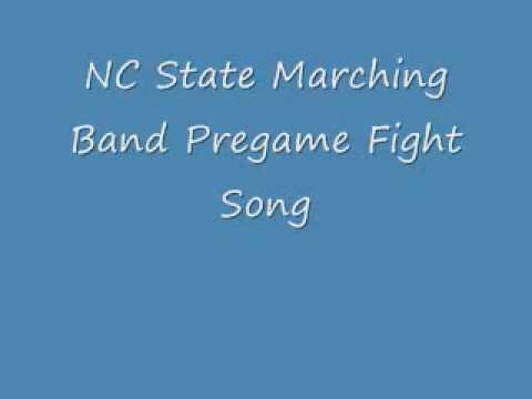 NC State Marching Band Pregame Fight Song