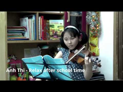 Anh Thi - Relax after school time - Long long ago Song.
