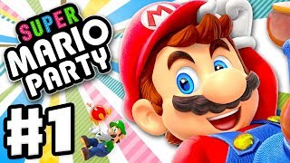 Super Mario Party - Gameplay Walkthrough Part 1 - Intro and Whomp