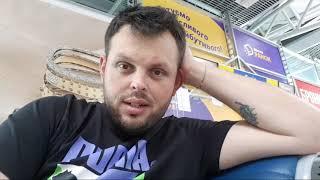 Харьков Аэропорт Ждём Посадку на рейс в Черногорию