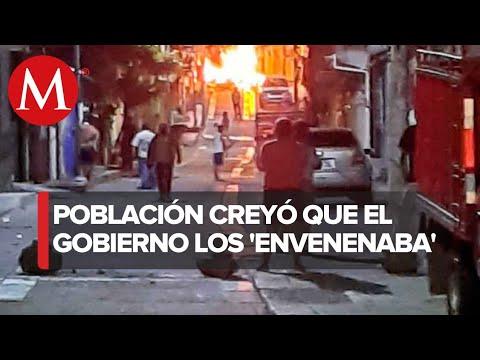 Vandalizan ayuntamiento en Chiapas; acusan que los contagian de covid-19