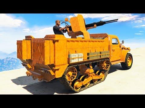 NEW $10 MILLION TANK CAR! (GTA 5 Gun Running DLC)