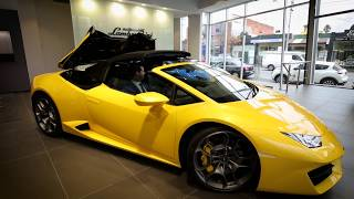 Lamborghini Melbourne Review the Huracán