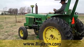BIG IRON EQUIPMENT FOR SALE: 1964 John Deere 4020 Tractor