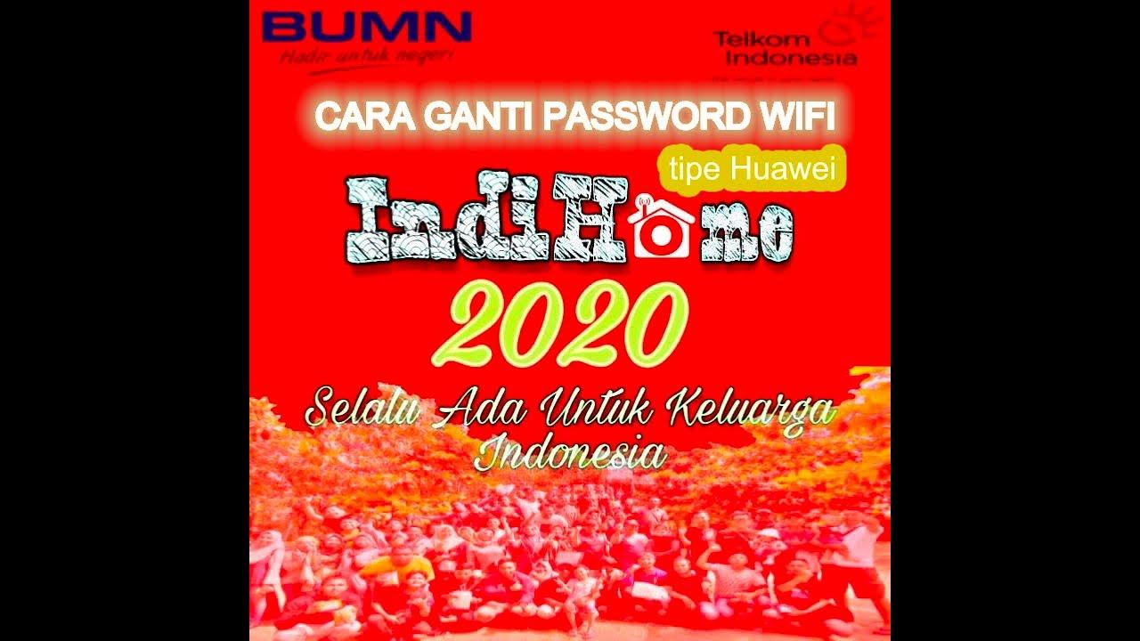 Ganti Password Wifi Indihome (ONT Huawei) - YouTube