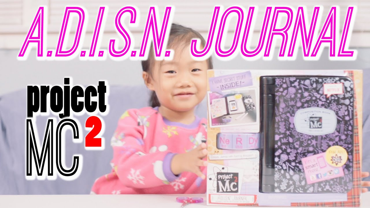 Megarainbowdash2000 S Journal: A.D.I.S.N. Journal Project MC2 Diary Unboxing Review ADISN