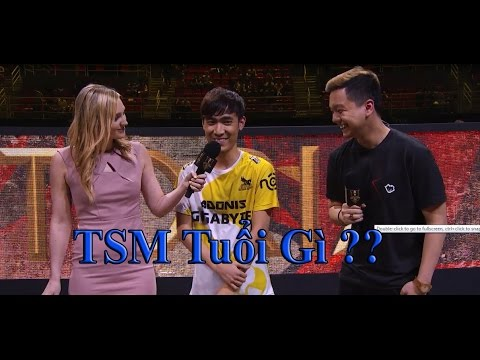 Levi trả lời phỏng vấn bá đạo làm người đẹp Msi cười bò - Highlight Gigabyte Marines vs TSM