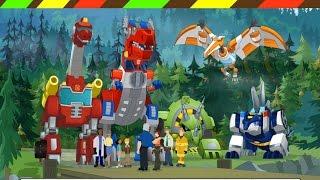 Game robot Khủng long biến hình | Dino Island - Transformers Rescue Bots