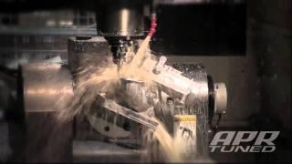 APR Machining the K04 Compressor Cover for the 2.0 TSI/FSI