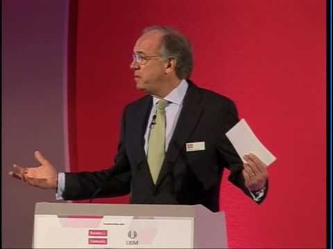 Stephen Howard, BITC and Peter Mather, BP speaking at the Responsible Business Convention 2011