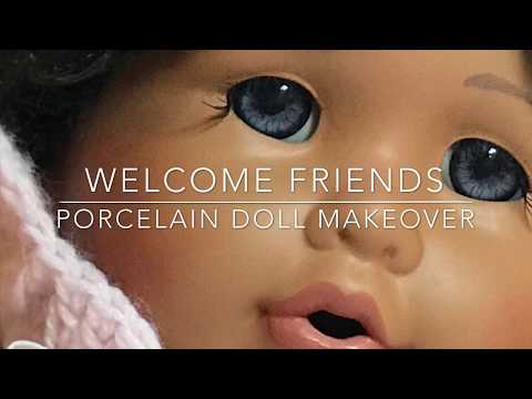 Native American African American Doll Makeover