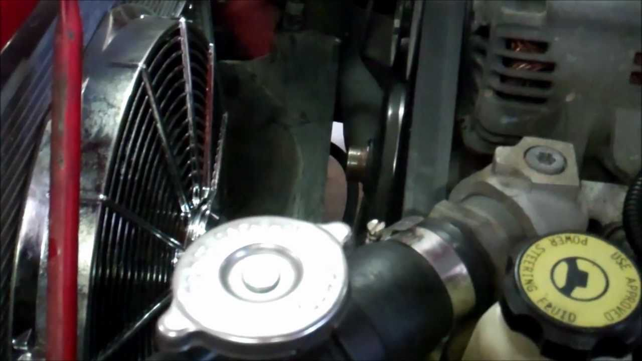 dodge dakota  clutch fan  electric fan