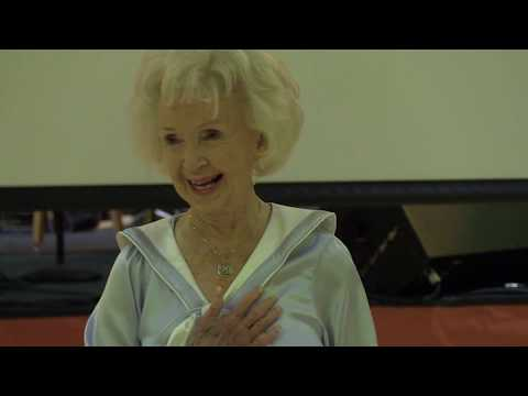 Incredible 93 year old dances routine she did 74 years ago in a movie.