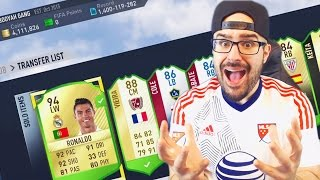 EVERYTHING IN MY CLUB IS GONE! 17 ultimate team!