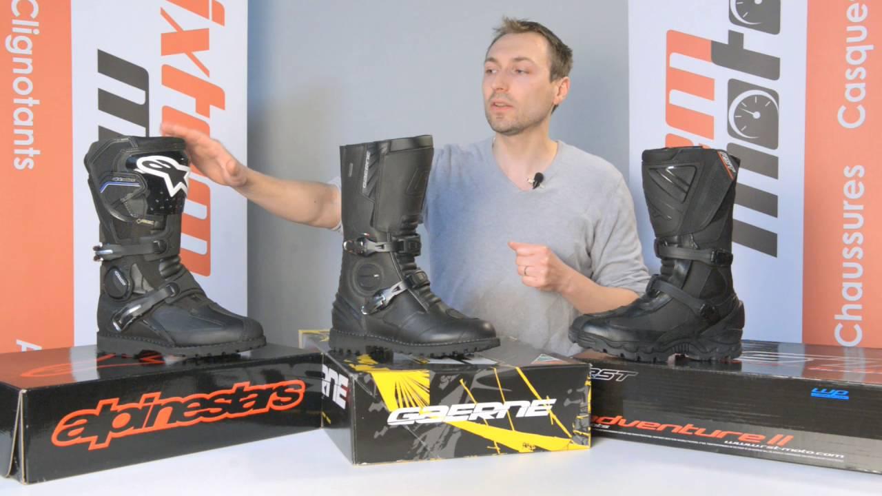 Choisir ses bottes de moto – Passion Moto Sécurité