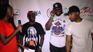 "Interview with Rap Group ""One Of A Kind"" at The Rebel minded Fest. 2014"