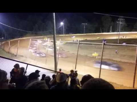 Ponderosa Speedway 7-23-16 Super late model Feature