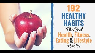 192 health habits: a simple list of ...