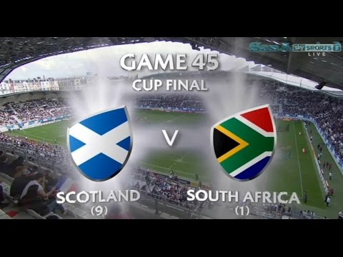 South Africa vs Scotland | Final cup Rugby 7 Paris 2017