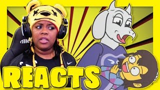 If Undertale Had A Flirting Route | SmashBits Animations Reactions | AyChristene Reacts