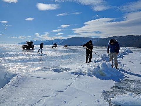 1255 км по льду Байкала на внедорожниках