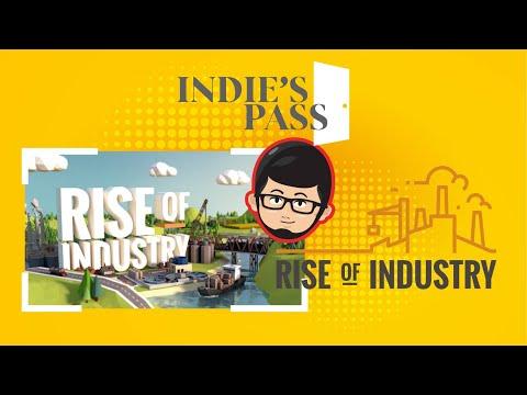 Review Rise Of Industry - Simulator Wajib Bagi Kalian Yang RAKUS HARTA KAPITALIS | Indie's Pass