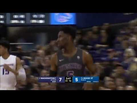 Men's Basketball: Washington Defeats Boise State In The NIT