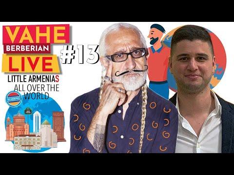 Vahe Berberian LIVE #13:  Little Armenias: The Travel Guide Of The Armenian Diaspora
