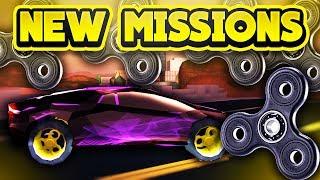 NEW MISSIONS & FIDGET SPINNERS!? (ROBLOX Jailbreak)