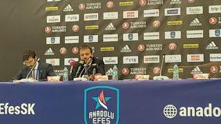 Anadolu Efes - FC Barcelona Basın Toplantısı